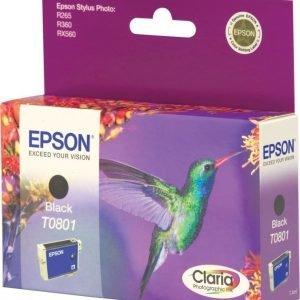 Epson T0801 musta