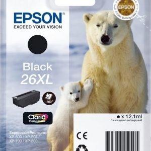 Epson T2621 XL musta