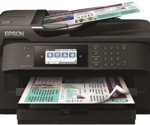Epson Workforce Wf 7710dwf Mustesuihkutulostin