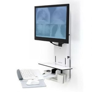 Ergotron Styleview Sit-stand Vertical Lift Patient Room