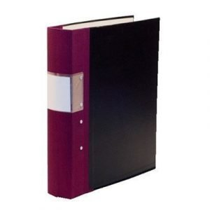 Esselte Fork Binder Wodden Back Budget 40 Mm Maroon