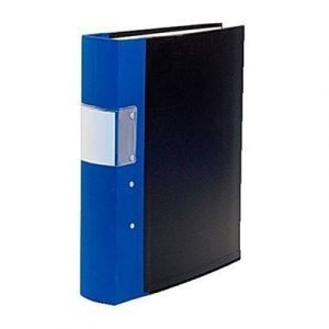 Esselte Fork Binder Wodden Back Budget 40mm Blue