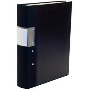 Esselte Fork Binder Wodden Back Budget 60mm Black