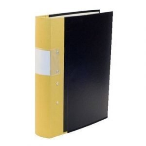 Esselte Fork Binder Wooden Back Budget 60mm Yellow