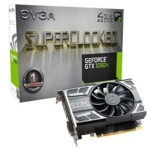 Evga Geforce Gtx 1050 Ti Superclocked Gaming 4gb