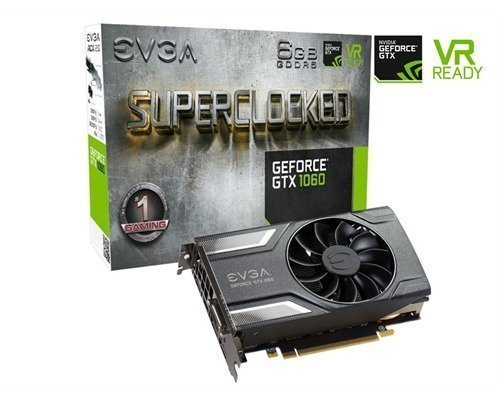 Evga Geforce Gtx 1060 Sc Gaming 6gb