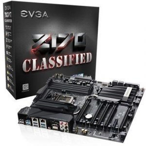 Evga Z170 Classified 4-way S-1151 Laajennettu Atx