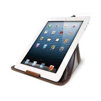 Exogear Exoshift Suojakotelo & Teline iPad iPad 2 iPad 3 iPad 4 Ruskea