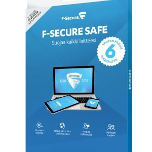 F-Secure F Secure 30 Vuotta Safe 1 Vuosi 3 Laitetta + 6kk Lisäaikaa