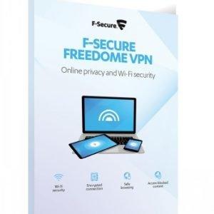 F-Secure F Secure Freedome Vpn 1 Vuosi 5 Laitetta Kaikki Laitteet
