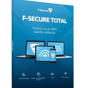 F-Secure F Secure Total 1 Vuosi 5 Laitetta