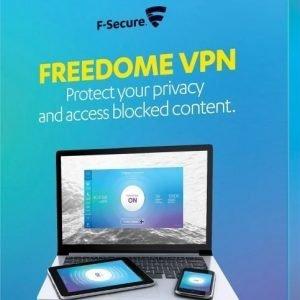 F-Secure Freedome VPN-palvelu 3 laitteelle