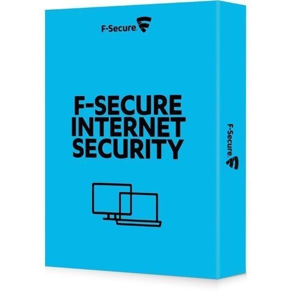 F-Secure Internet Security (1vuosi 1PC) Pohjoismainen 25-P OEM