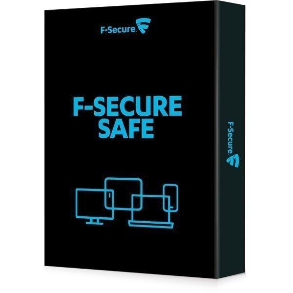 F-Secure SAFE pilvipohjainen reaaliaika suoja yksi laite 1 vuosi