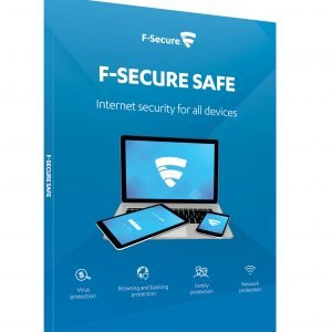 F-Secure Safe Attach 1 Year 3 Devices Virustorjunta