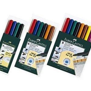 Faber-castell Overhead Pen S-fine Permanent 4-set