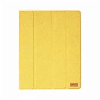 Fenice Creativo Nahkakotelo iPad 2 iPad 3 iPad 4 Keltainen
