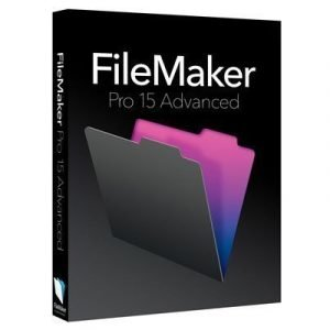 Filemaker Pro 15 Advanced Win/mac Multi Languages Box