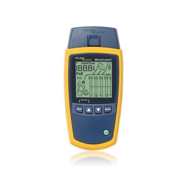 Fluke MicroScanner2 kaapelitestaaja RJ45 RJ11 F-liitos