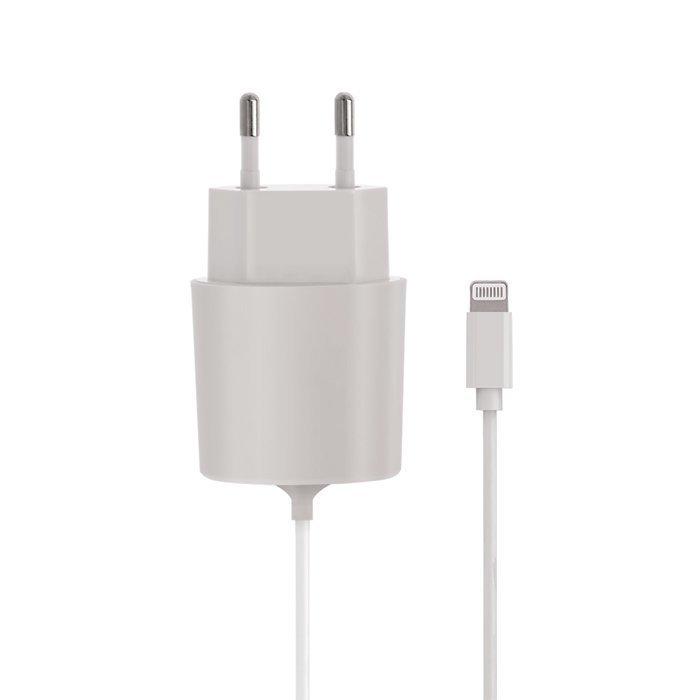 Forever MFi Lightning laturi kiinteällä piuhalla iPhone 5 / 6 / 7
