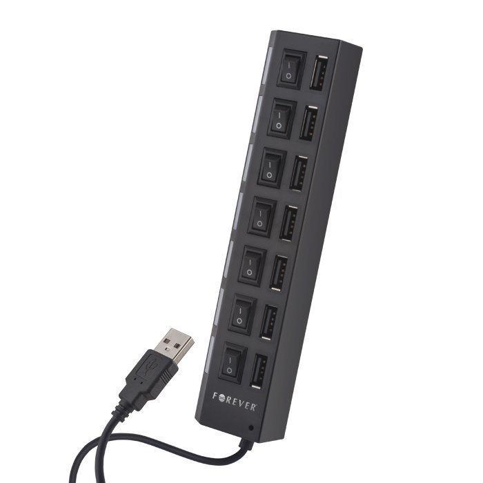 Forever USB Hubi 7 Porttinen