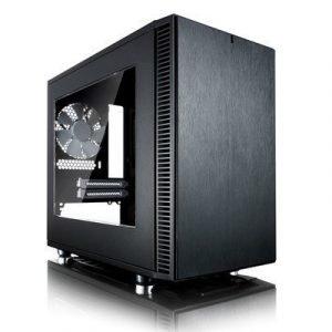 Fractal Design Define Nano S Black Window Musta