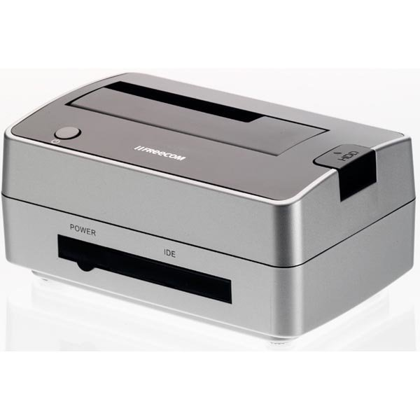 "Freecom Hard Drive Dock Pro USB 2.0 suoratelakka 2 5 ja 3 5"" SATA"""