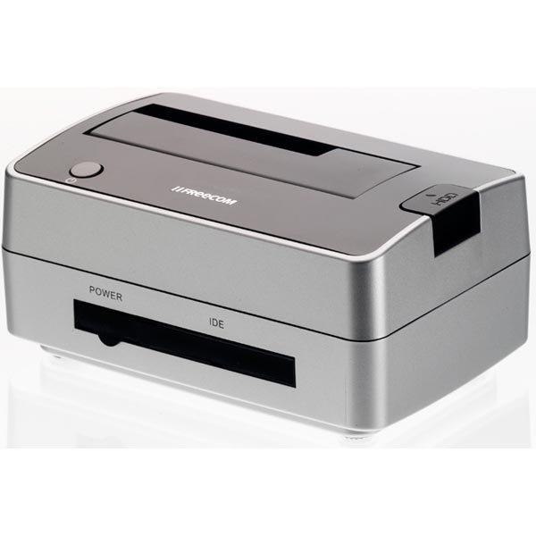 "Freecom Hard Drive Dock Pro USB 2.0 suoratelakka 2 5 ja 3 5"" SATA"""