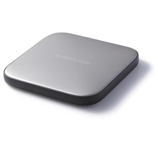 Freecom Mobile Drive Sq TV ulk.kiintolevy 500GB USB 3.0 hopea/mus