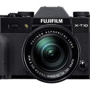 Fujifilm X-t10 + 16-50/3