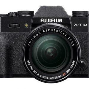 Fujifilm X-t10 + 18-55/2