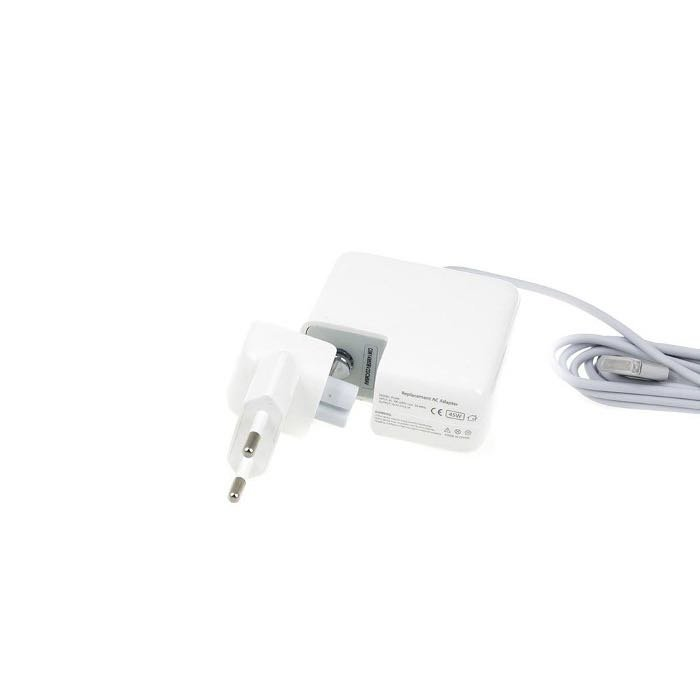 GREEN CELL MagSafe 2 yhteensopiva Apple laturi Macbookille Air / A1436 / 45W / 1485V / 3.05A