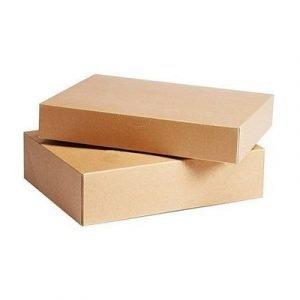 Generic Arkivbox Brun 385x260x80 Sv Standard Folio 25pcs