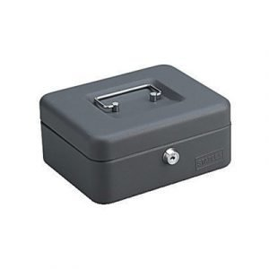 Generic Cash Box Dark Gray 88x200x160mm