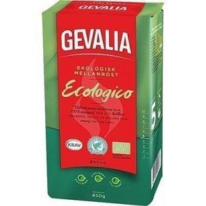 Gevalia Kaffe Brygg Ekologiskt 450g 12-pack