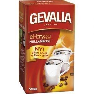 Gevalia Kaffe Gevalia Mellanrost E-brygg 500g 12-pack