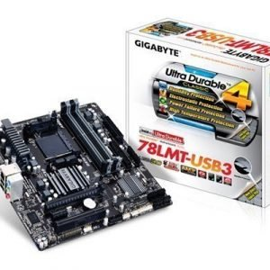 Gigabyte Ga-78lmt-usb3 Socket Am3+ Mikro Atx