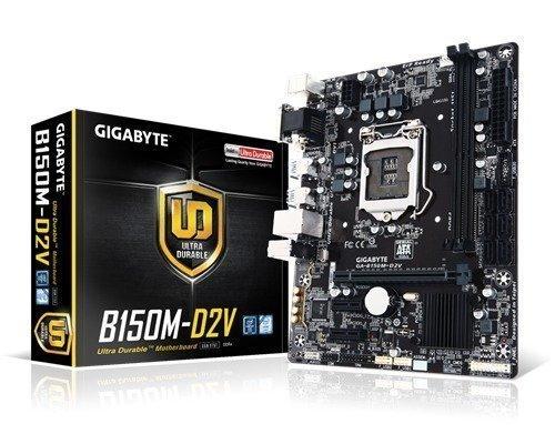 Gigabyte Ga-b150m-d2v Lga1151 Socket Mikro Atx