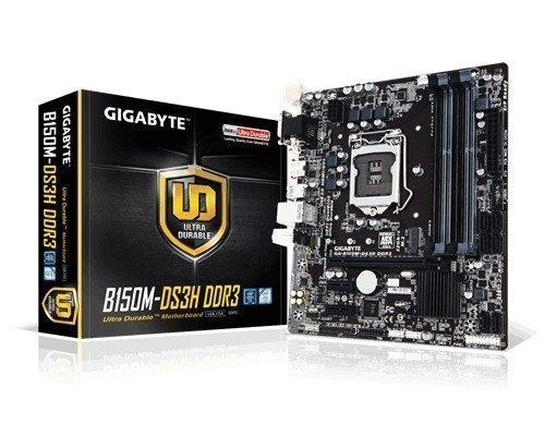 Gigabyte Ga-b150m-ds3h Ddr3 Lga1151 Socket Mikro Atx