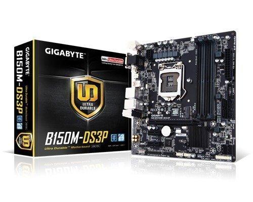 Gigabyte Ga-b150m-ds3p Lga1151 Socket Mikro Atx