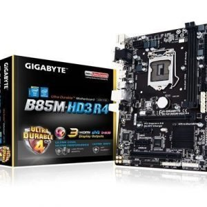 Gigabyte Ga-b85m-hd3 R4 Lga1150 Pistoke Mikro Atx