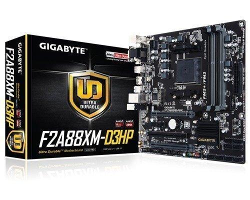 Gigabyte Ga-f2a88xm-d3hp Socket Fm2+ Mikro Atx