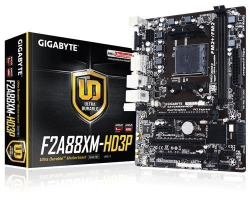 Gigabyte Ga-f2a88xm-hd3p Socket Fm2+ Mikro Atx