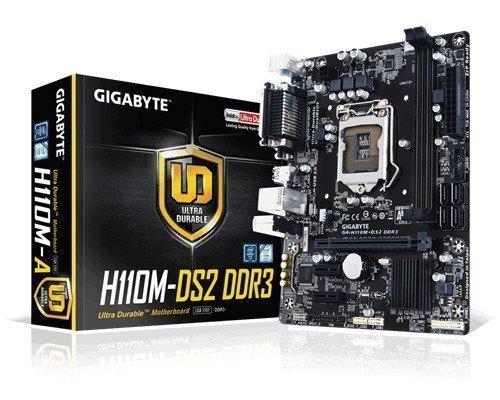 Gigabyte Ga-h110m-ds2 Ddr3 Lga1151 Socket Mikro Atx