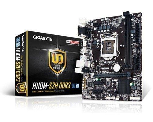 Gigabyte Ga-h110m-s2h Ddr3 S-1151 Mikro Atx