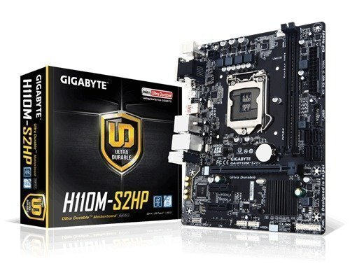 Gigabyte Ga-h110m-s2hp Lga1151 Socket Mikro Atx