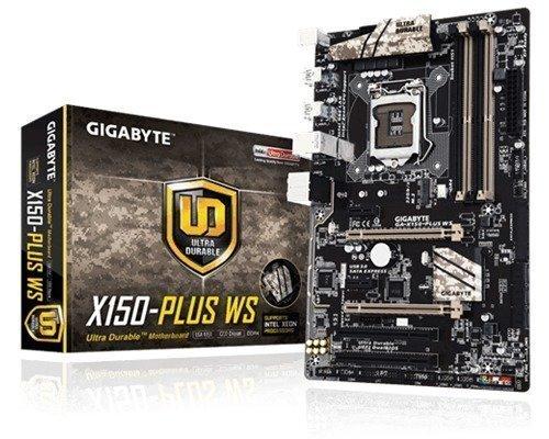 Gigabyte Ga-x150-plus Ws Lga1151 Socket Atx
