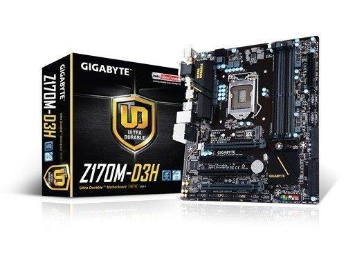 Gigabyte Ga-z170m-d3h S-1151 Mikro Atx