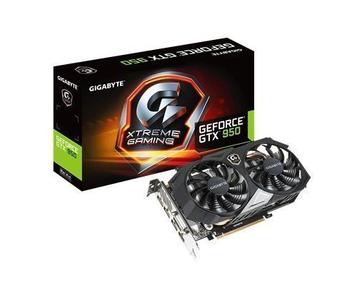 Gigabyte Geforce Gtx 950 Xtreme Gaming 2gb