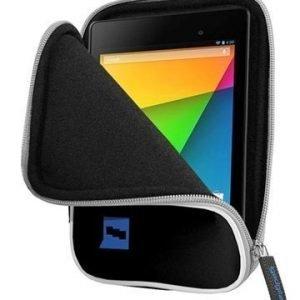 Google Nexus 7 2 iGadgitz Neopreenikotelo Musta